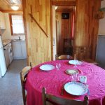 Coin repas Chalet Camping du Lac