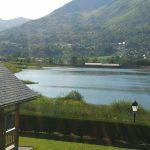 Vue dégagée sur le Lac